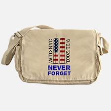Never Forget 9/11 Messenger Bag 2