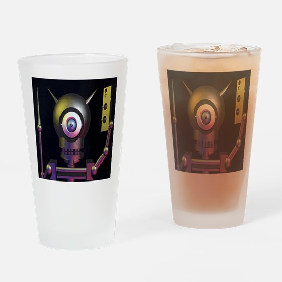Cool Tron Drinking Glass