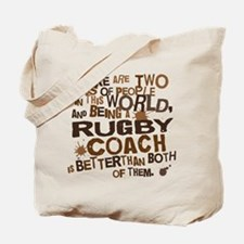 Rugby Coach (Funny) Gift Tote Bag