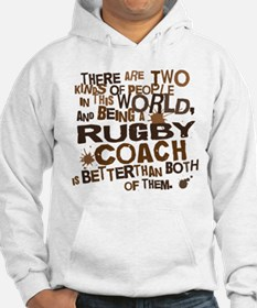 Rugby Coach (Funny) Gift Hoodie