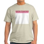 Honeymooner Hearts Ash Grey T-Shirt