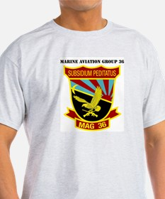 SSI -USMC-MAG 36 WITH TEXT T-Shirt