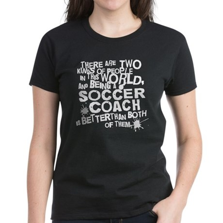 Soccer Coach Gift For Women's Dark T-Shirt