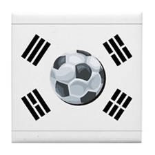 Korean Soccer Tile Coaster