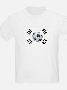 Korean Soccer Kids T-Shirt