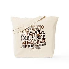 Social Science Teacher (Funny) Gift Tote Bag