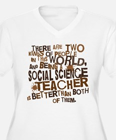 Social Science Teacher (Funny) Gift T-Shirt