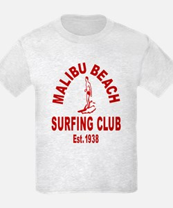 Malibu Beach Surfing Club T-Shirt