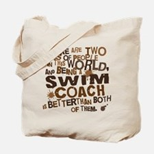 Swim Coach (Funny) Gift Tote Bag