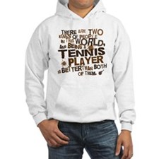 Tennis Player Gift For Hoodie