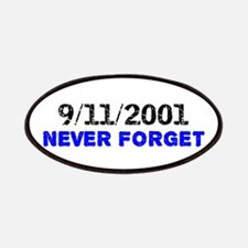 Never Forget 9/11 Patches