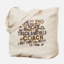 Track and Field coach (Funny) Gift Tote Bag