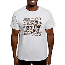 Wrestling Coach (Funny) Gift T-Shirt