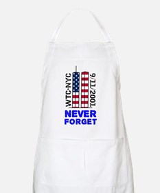 Never Forget 9/11 Apron