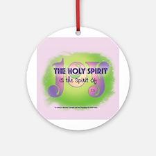 ACIM-Holy Spirit is Joy Ornament (Round)