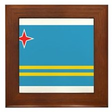 Unique Aruba Framed Tile
