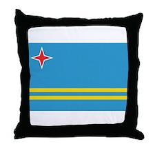 Cute Aruba Throw Pillow