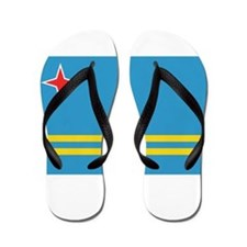 Cute Flag of aruba Flip Flops