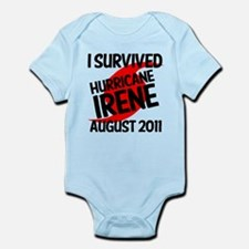 I SURVIVED IRENE 2011 Infant Bodysuit