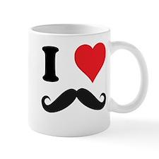 I LOVE DARK MOUSTACHES Mug