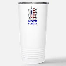 Never Forget 9/11 Travel Mug