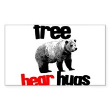 FREE BEAR HUGS Decal