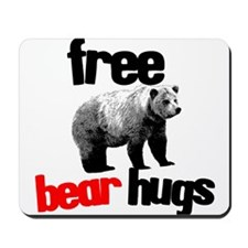 FREE BEAR HUGS Mousepad
