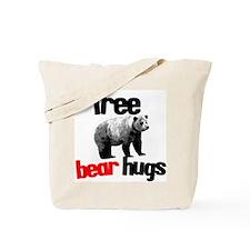 FREE BEAR HUGS Tote Bag