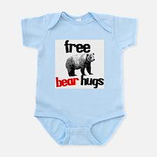 FREE BEAR HUGS Infant Bodysuit