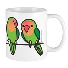 Peach-Faced Lovebirds Mug