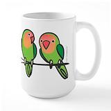 Lovebird Large Mugs (15 oz)