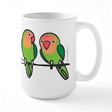 Peach-Faced Lovebirds Mug