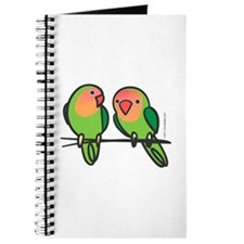 Peach-Faced Lovebirds Journal