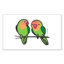 Peach-Faced Lovebirds Decal