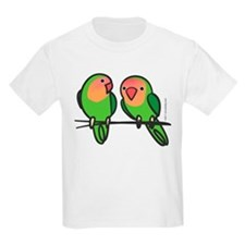 Peach-Faced Lovebirds T-Shirt