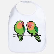 Peach-Faced Lovebirds Bib