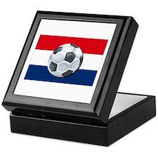 Dutch Soccer Keepsake Box
