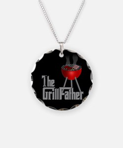 Grill Father Necklace