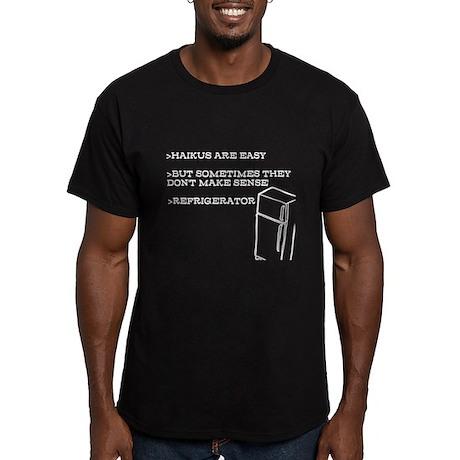 Haiku Refrigerator (Fitted T-Shirt (Dark))