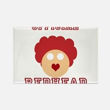 Official Redhead Rectangle Magnet