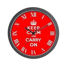 KEEP CALM Wall Clock