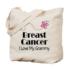 Breast Cancer Love My Grammy Tote Bag