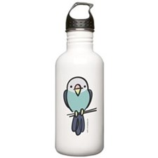 Blue Parakeet Water Bottle