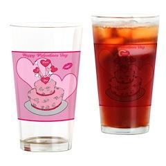 OYOOS Valentine's design Drinking Glass