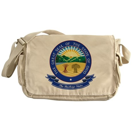 Ohio Seal Messenger Bag