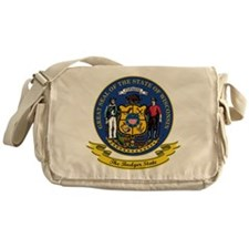 Wisconsin Seal Messenger Bag