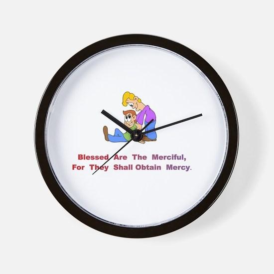 Merciful Gifts Wall Clock
