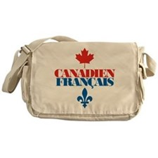 Canadien Francais 2 Messenger Bag