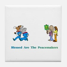 Peacemakers Gifts Tile Coaster