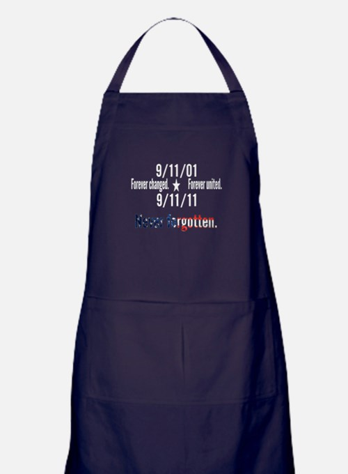 9-11 / United Never Forgotten Apron (dark)